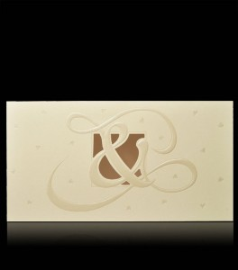 Wedding invitation C 9601