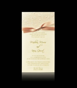 Wedding invitation C 0304