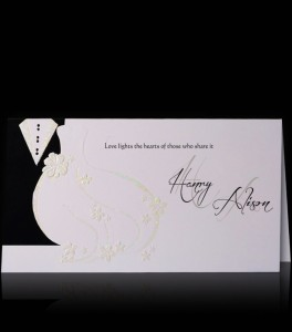 Wedding invitaion C 2401