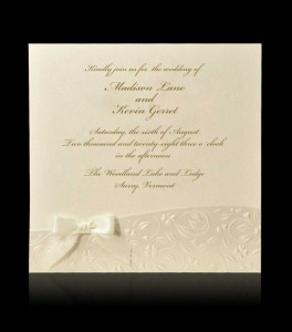 Wedding invitation B 7302