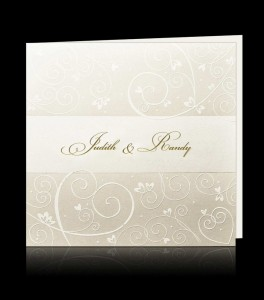 Wedding invitation C 0305