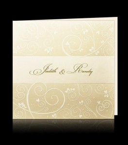 Wedding invitation C 0306