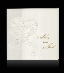 Wedding invitation C 0307
