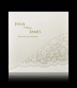 Wedding invitation C 0405