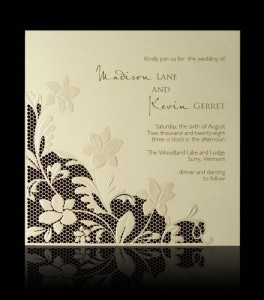 Wedding invitation C 0704