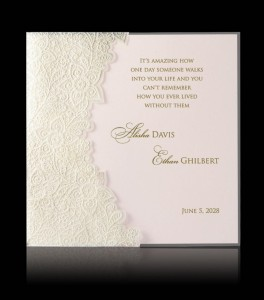 Wedding invitation C 0808