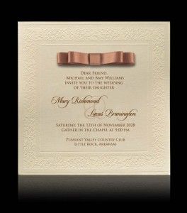 Wedding invitation C 0809