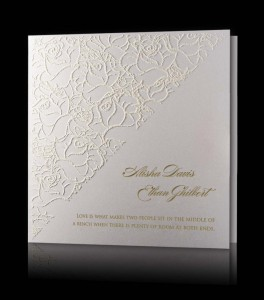 Wedding invitation C 0909
