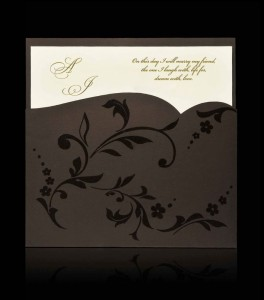 Wedding invitation C 1104