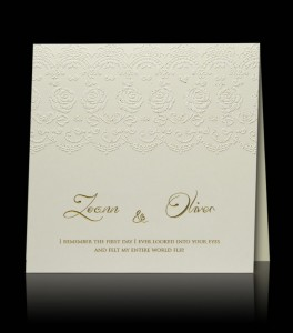 Wedding invitation C 2105