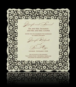Wedding invitation C 2307