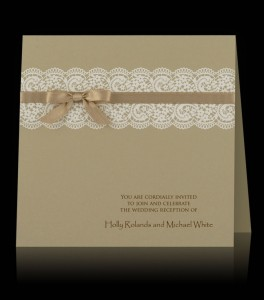 Wedding invitation C 2406