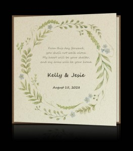 Wedding invitation C 2506