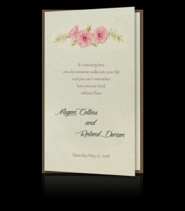 Wedding invitation C 2708