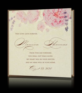 Wedding invitation C 2709