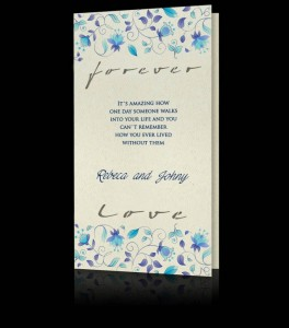 Wedding invitation C 2802