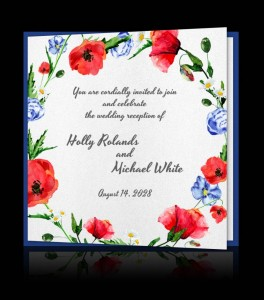 Wedding invitation C 2809