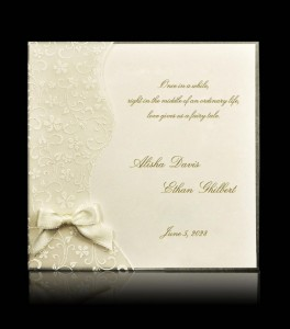 Wedding invitation C 6109