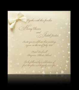 Wedding invitation C 7209