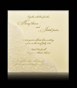 Wedding invitation C 7404