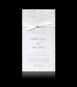 Wedding invitation D 0302