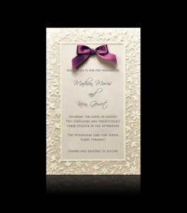 Wedding invitation D 0402
