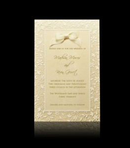 Wedding invitation  D 0403