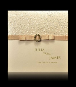 Wedding invitation D 0602