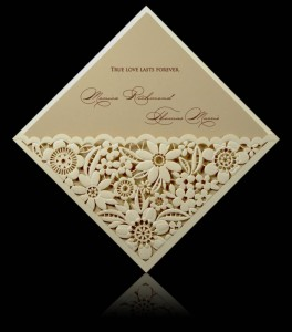 Wedding invitation D 0707
