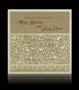 Wedding invitation D 0708