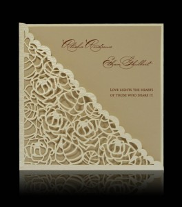 Wedding invitation D 0709