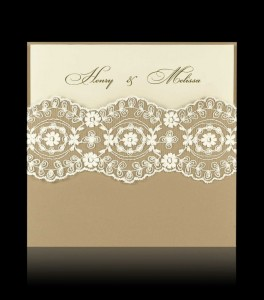 Wedding invitation D 1806