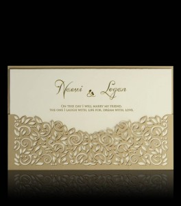 Wedding invitation D 2102