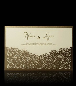 Wedding invitation D 2103