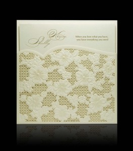 Wedding invitation D 2206
