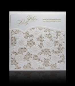 Wedding invitation D 2207