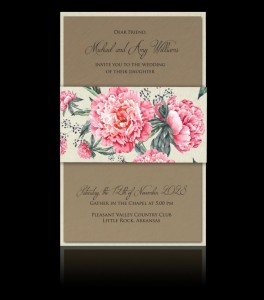 Wedding invitation D 2902