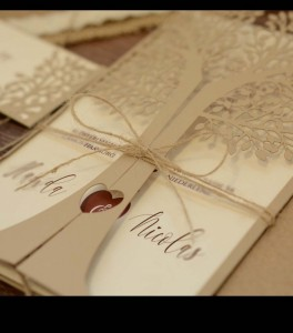 Wedding invitation D 3405