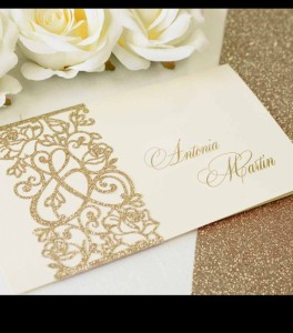 Wedding invitation D 3407
