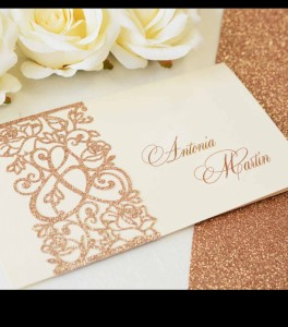 Wedding invitation D 3408