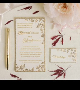 Wedding invitation D 3501