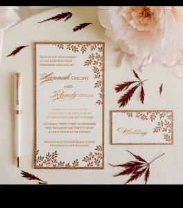 Wedding invitation D 3502