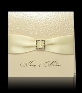 Wedding invitation E 0905
