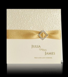 Wedding invitation E 1607