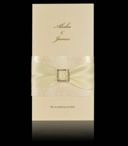 Wedding invitation E 1807
