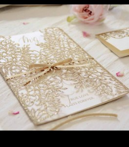 Wedding invitation E 3106