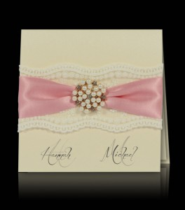 Wedding invitation F 0706