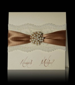 Wedding invitation F 2204